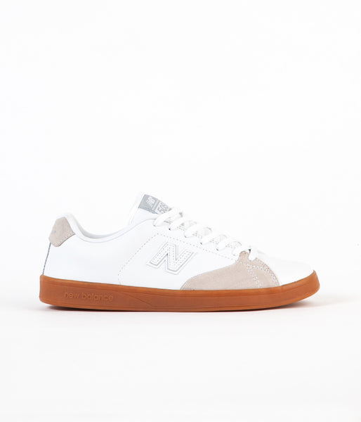 New Balance Numeric 505 Shoes - White / White