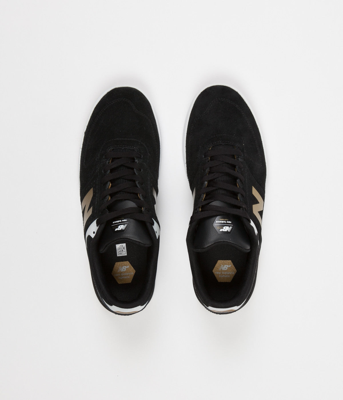 New Balance Numeric 533 Shoes - Black / Gold