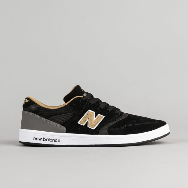 New Balance Numeric 598 Shoes - Black / Gold