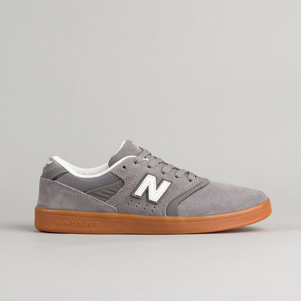 New Balance Numeric 598 Shoes - Grey / Grey / Gum