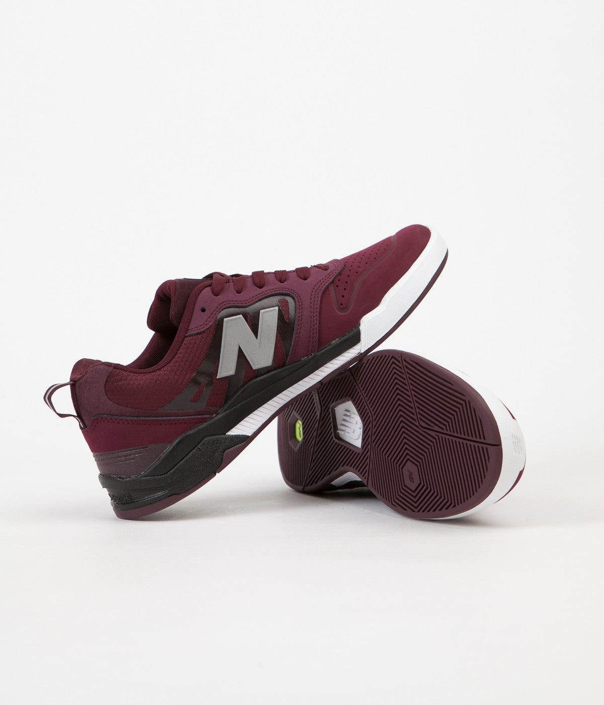 New Balance Numeric 868 Shoes - Chocolate Cherry / Black