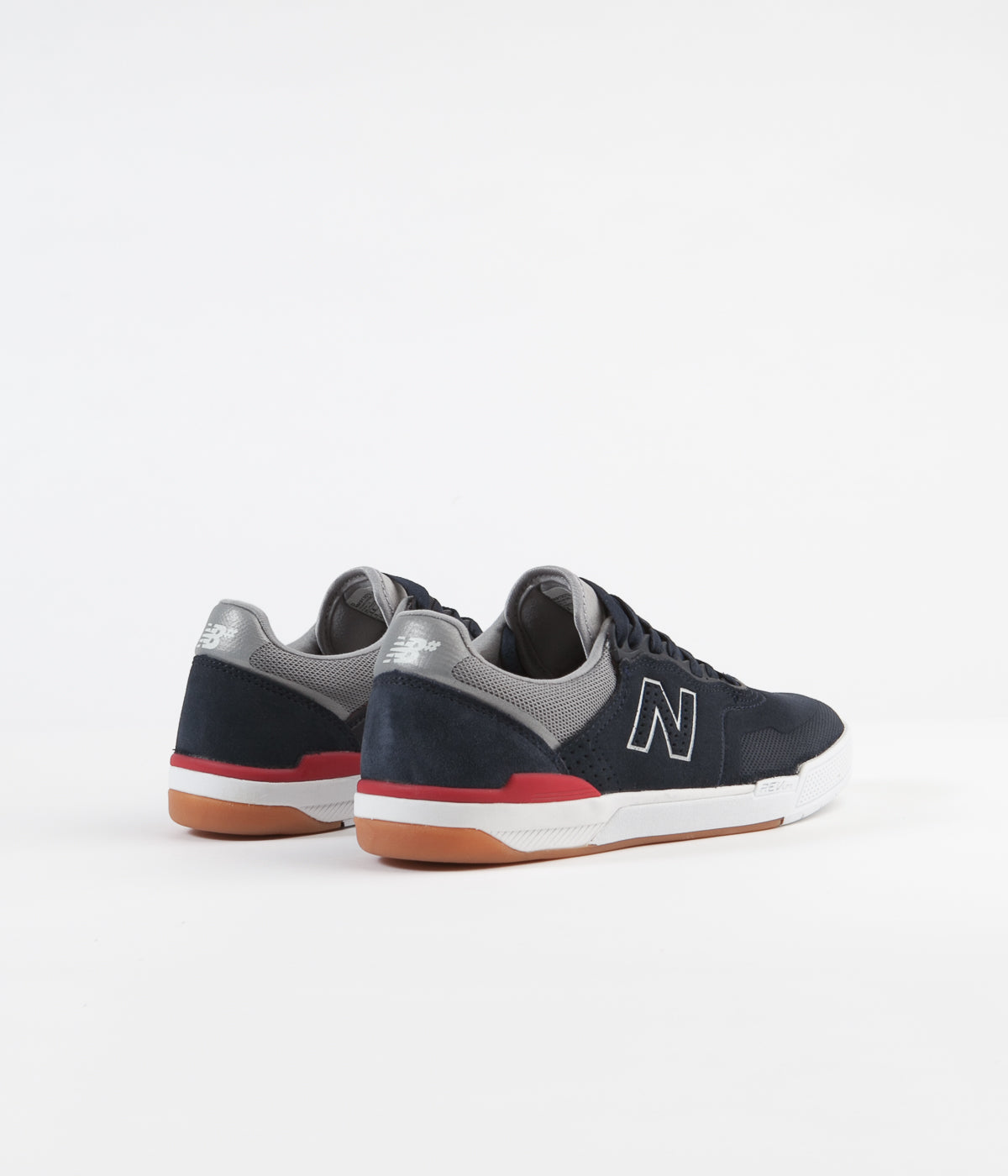 New Balance Numeric 913 Shoes - Navy / Red