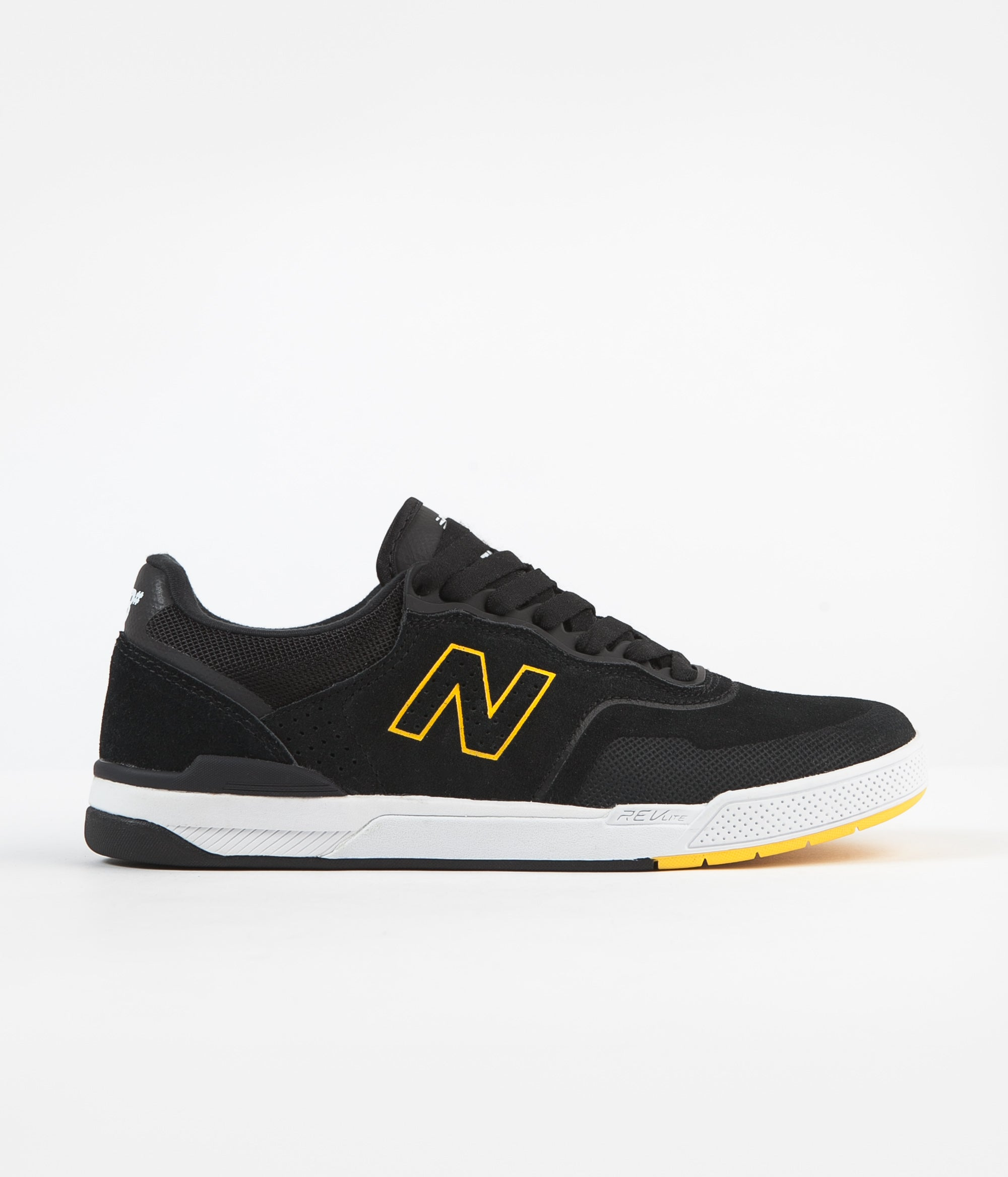 New Balance Numeric 913 Westgate Shoes - Black / Yellow