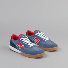 New Balance Numeric Allston 617 Shoes - Blue / Gum