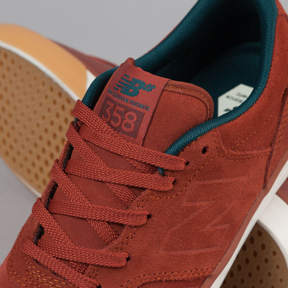 New Balance Numeric Arto 358 Shoes - Rust