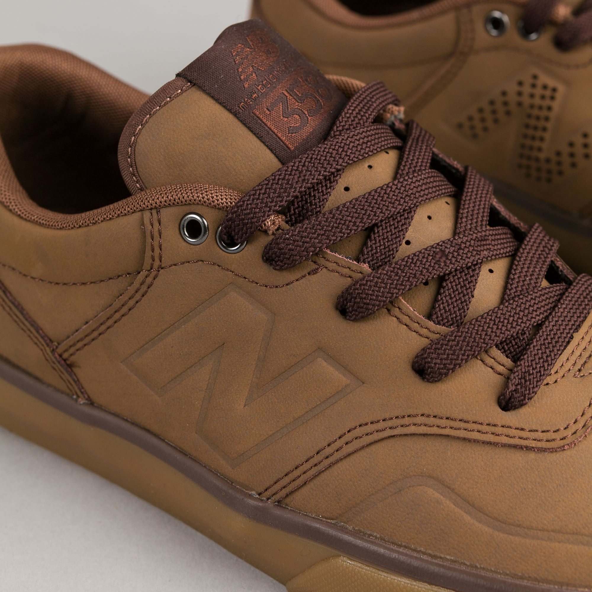 New Balance Numeric Arto 358 Shoes - Saddle Gum