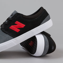 New Balance Numeric Brighton 344 Shoes - Black / Grey