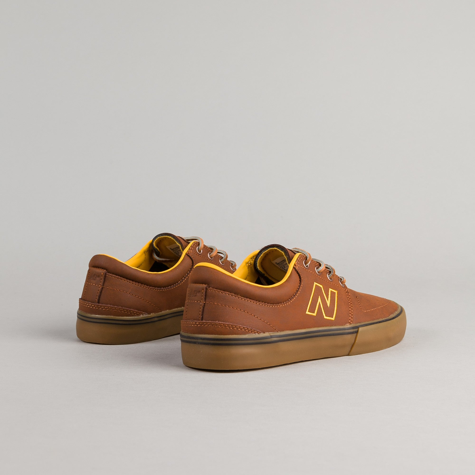 New Balance Numeric Brighton 344 Shoes - Brown / Gum