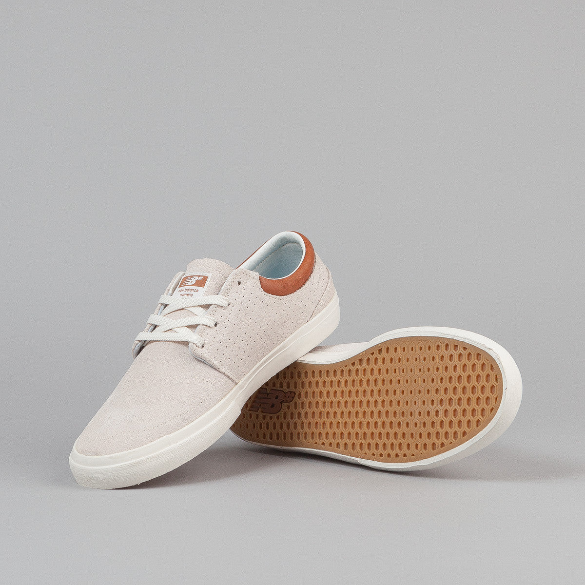 New Balance Numeric Brighton 344 Shoes - Cream