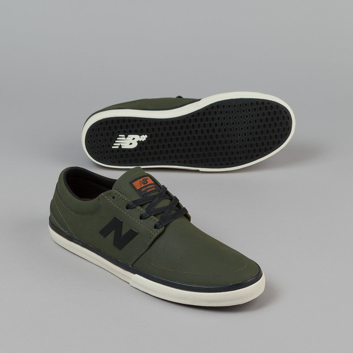 New Balance Numeric Brighton 344 Shoes - Olive