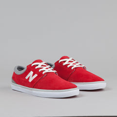 New Balance Numeric Brighton 344 Shoes - Red / Grey