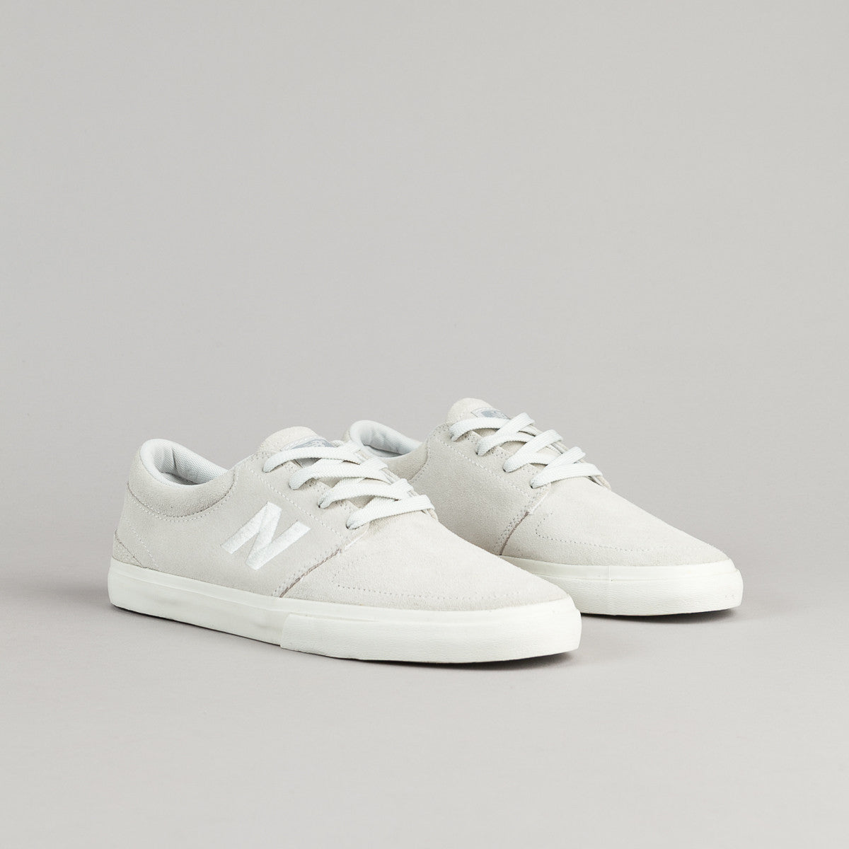 New Balance Numeric Brighton 344 Shoes - White / Light Grey