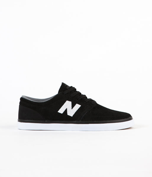 New Balance Numeric Brighton 345 Shoes - Black/ White