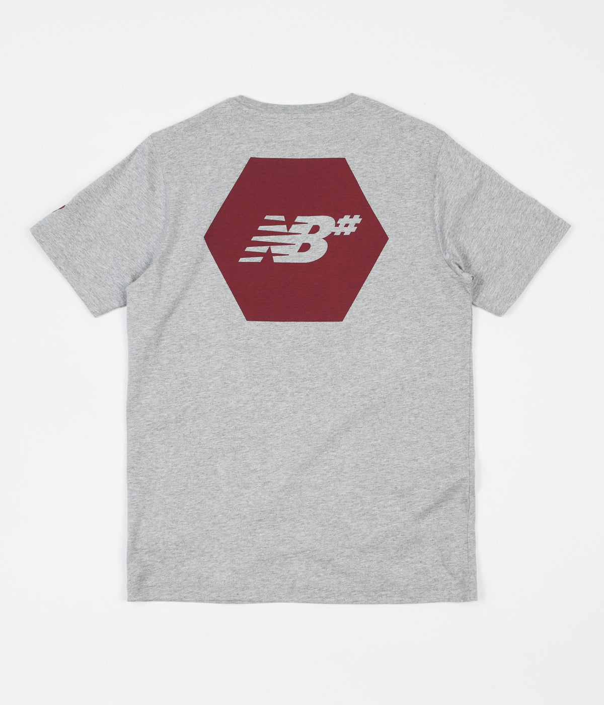 New Balance Numeric Hex T-Shirt - Athletic Grey