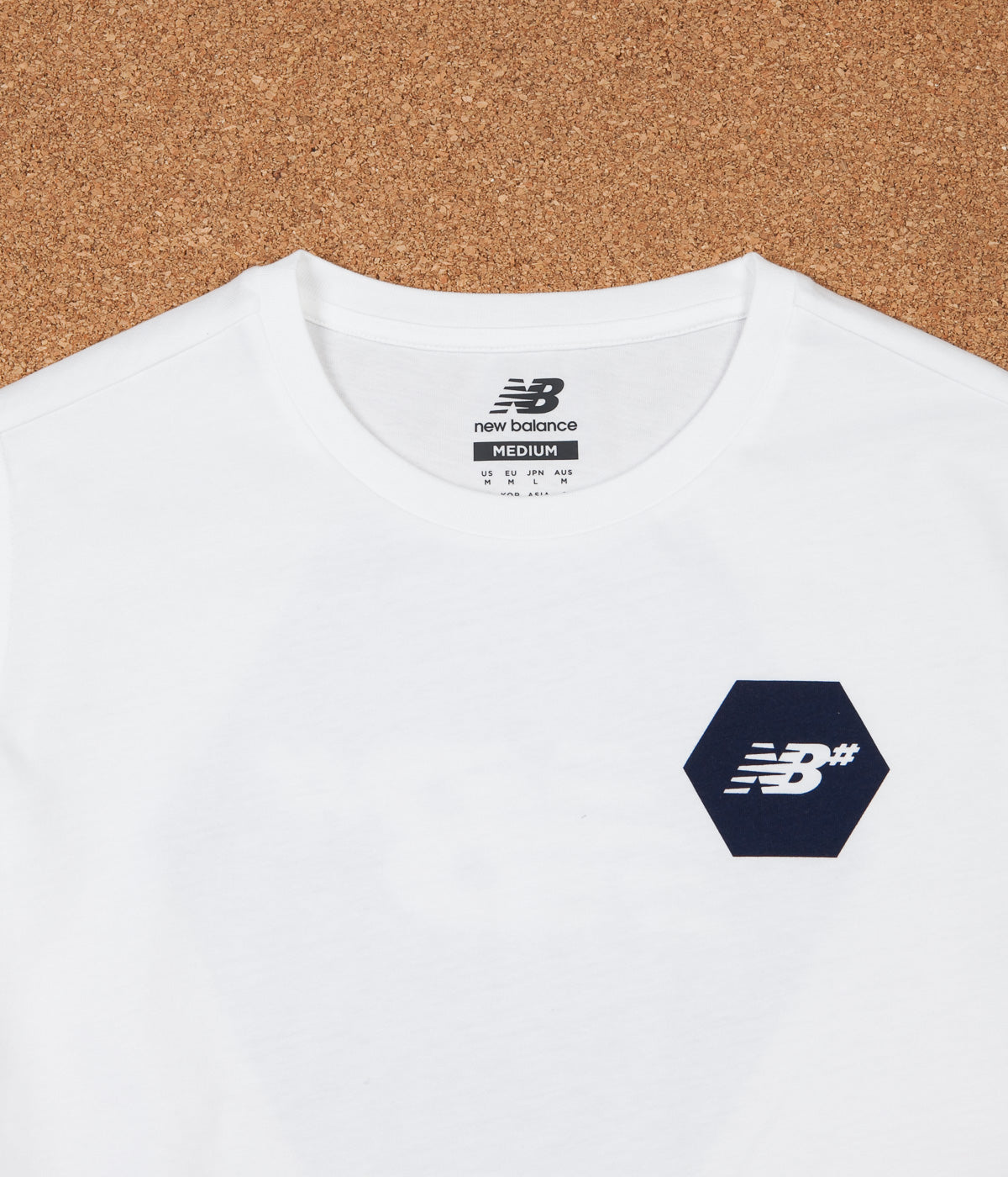 New Balance Numeric Hex T-Shirt - White