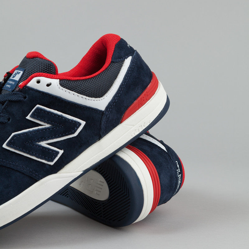 New Balance Numeric Logan S 636 Shoes - Navy Blue