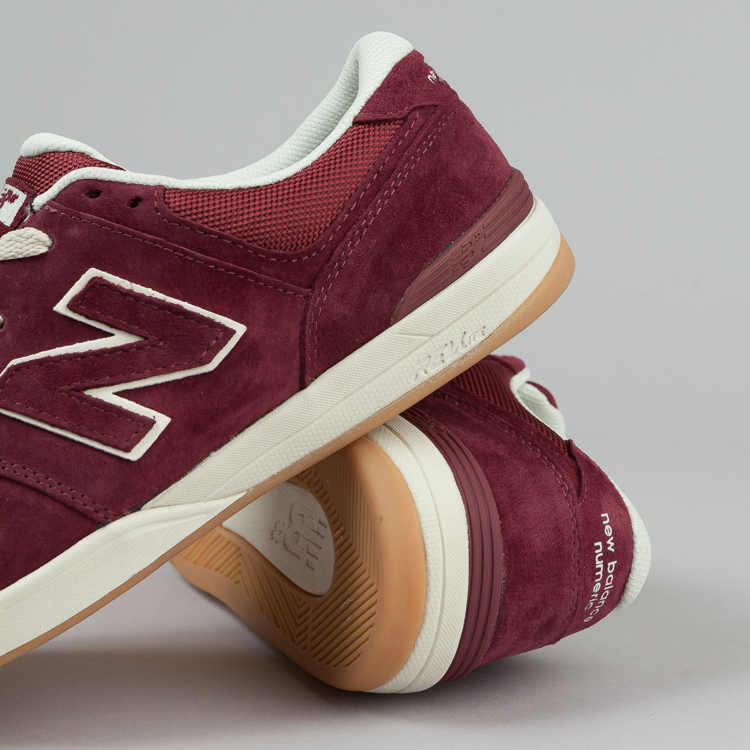 New Balance Numeric Logan S 636 Shoes - Red