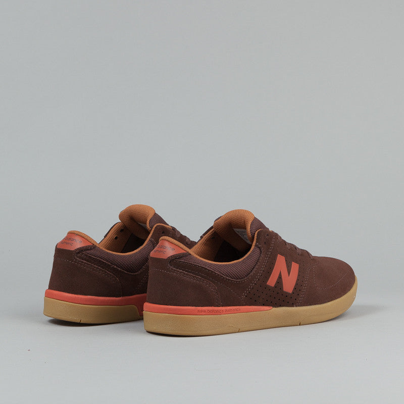 New Balance Numeric PJ Stratford 533 Shoes - Brown Suede