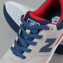 New Balance Numeric PJ Stratford 533 - Grey / Red
