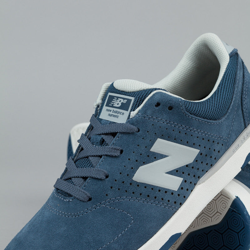 New Balance Numeric PJ Stratford 533 Shoes - Navy Suede
