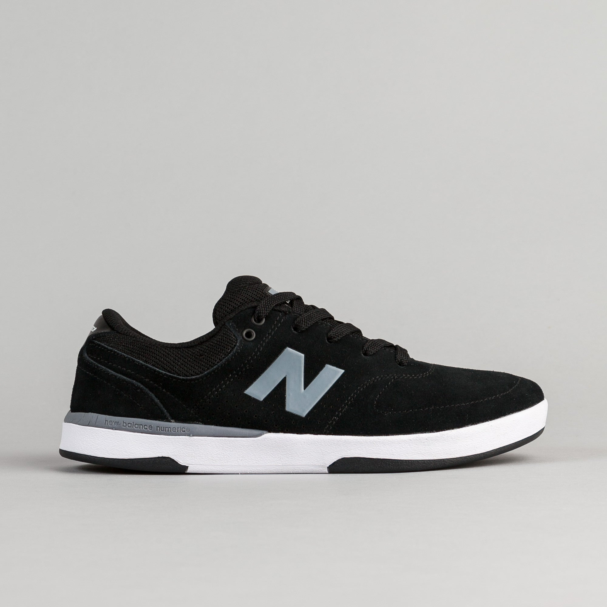 New Balance Numeric PJ Stratford 533 Shoes - Black / Grey / White