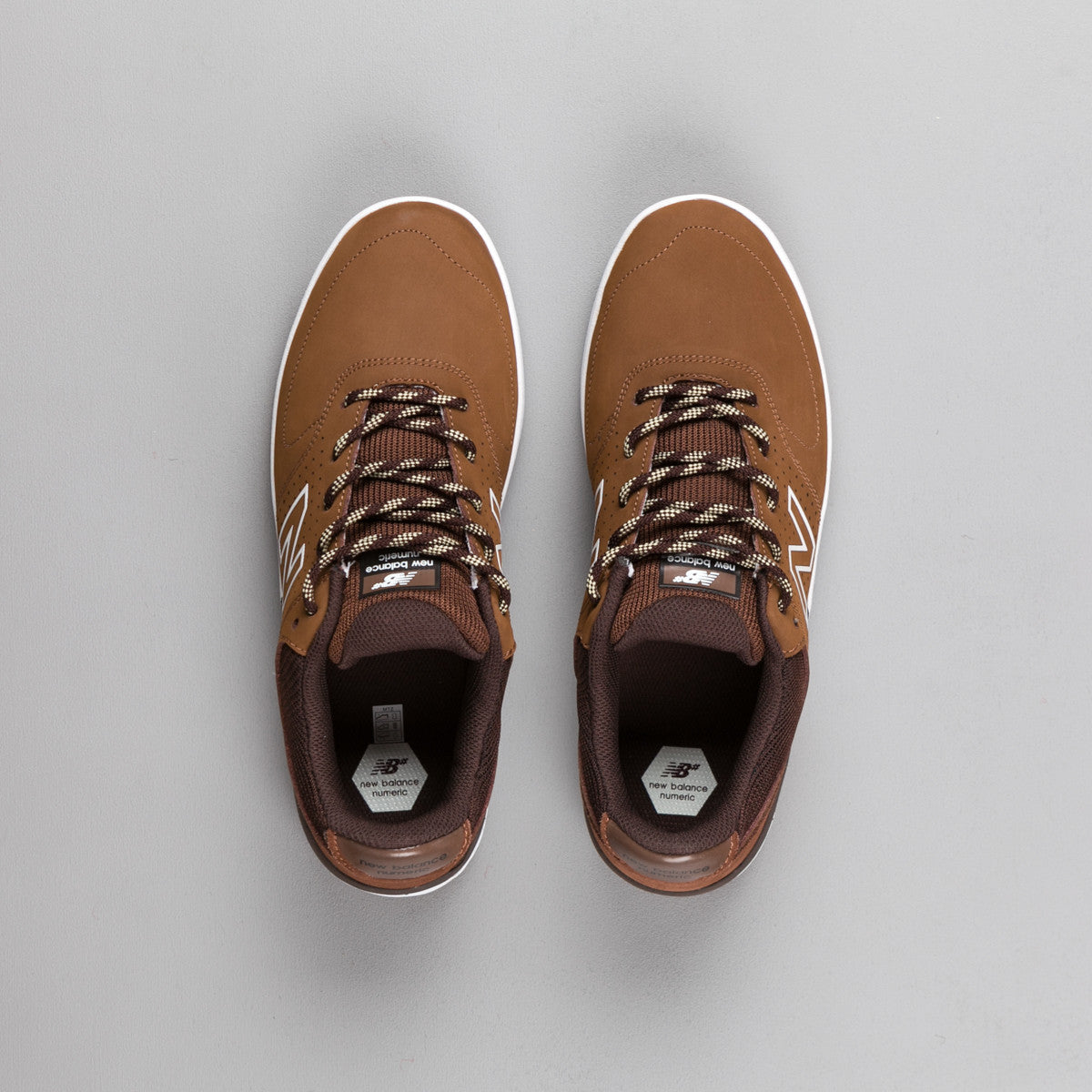 New Balance Numeric PJ Stratford 533 Shoes - Brown