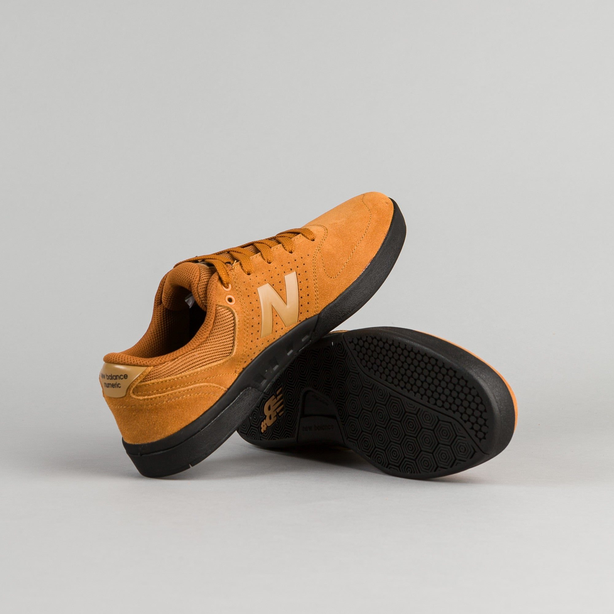 New Balance Numeric PJ Stratford 533 Shoes - Maple / Black