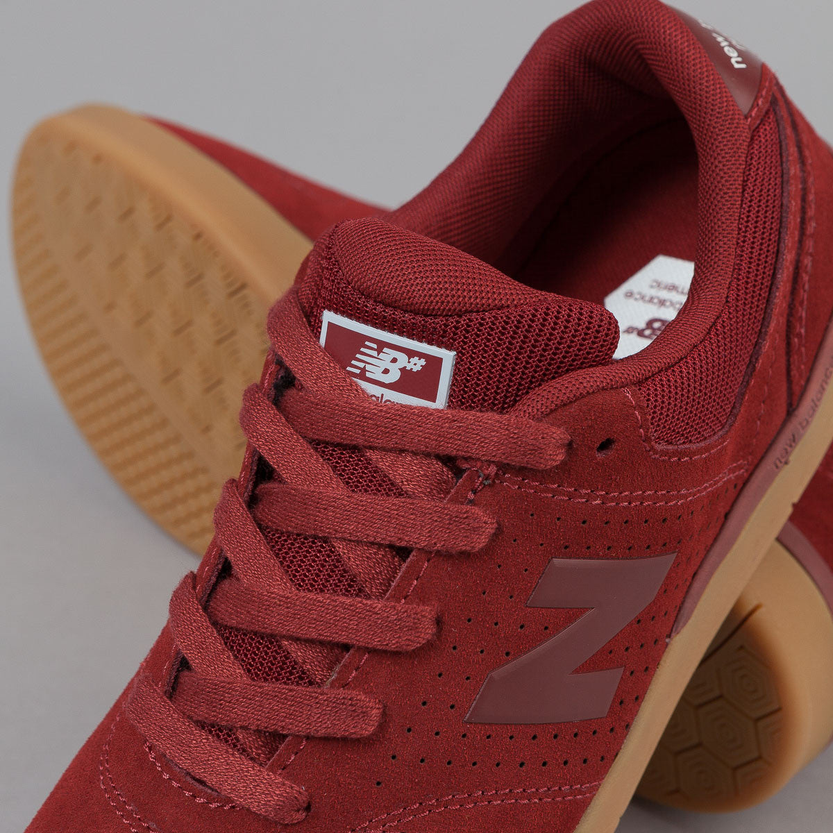New Balance Numeric PJ Stratford 533 Shoes - Rust / Gum