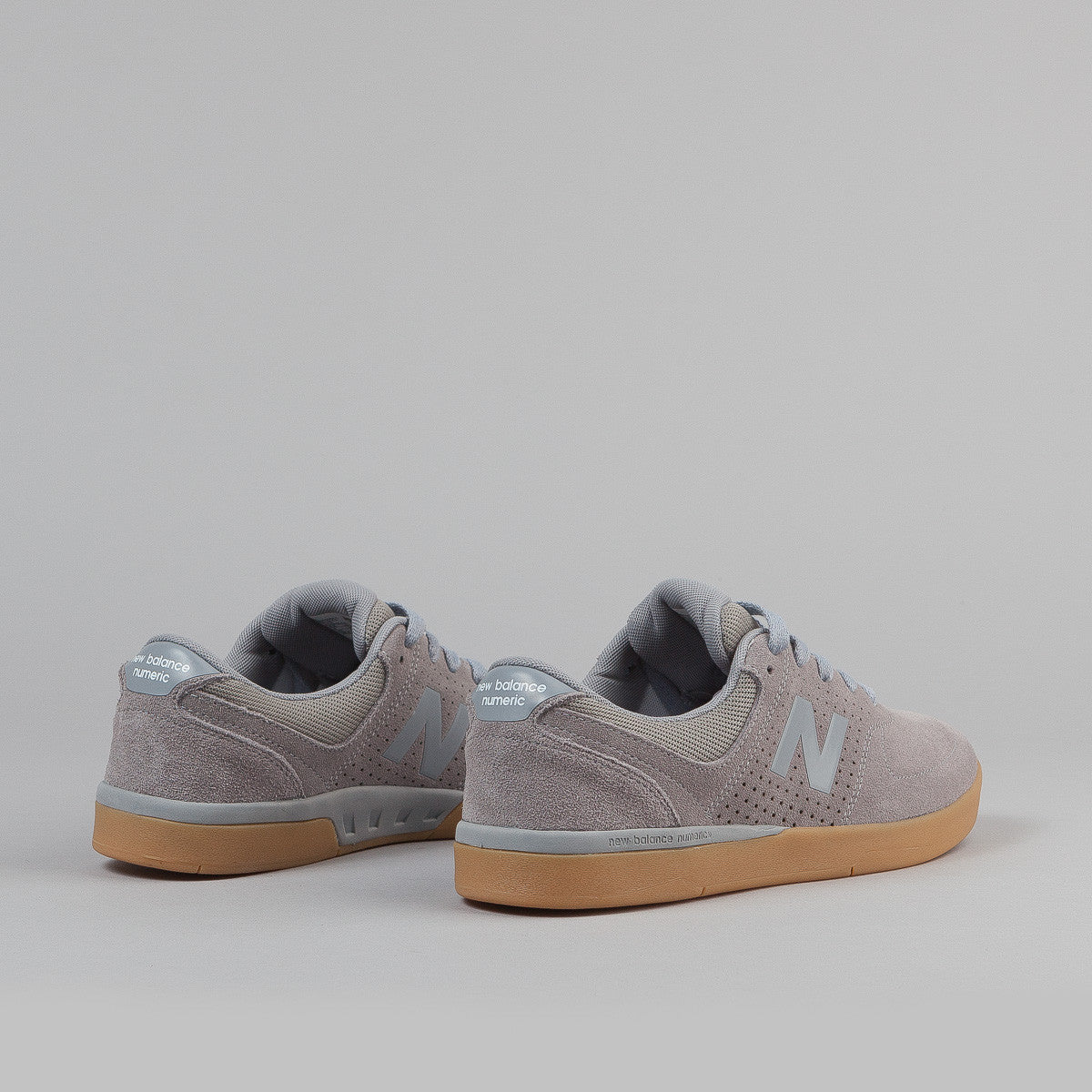 New Balance Numeric PJ Stratford 533 Shoes - Steel / Gum