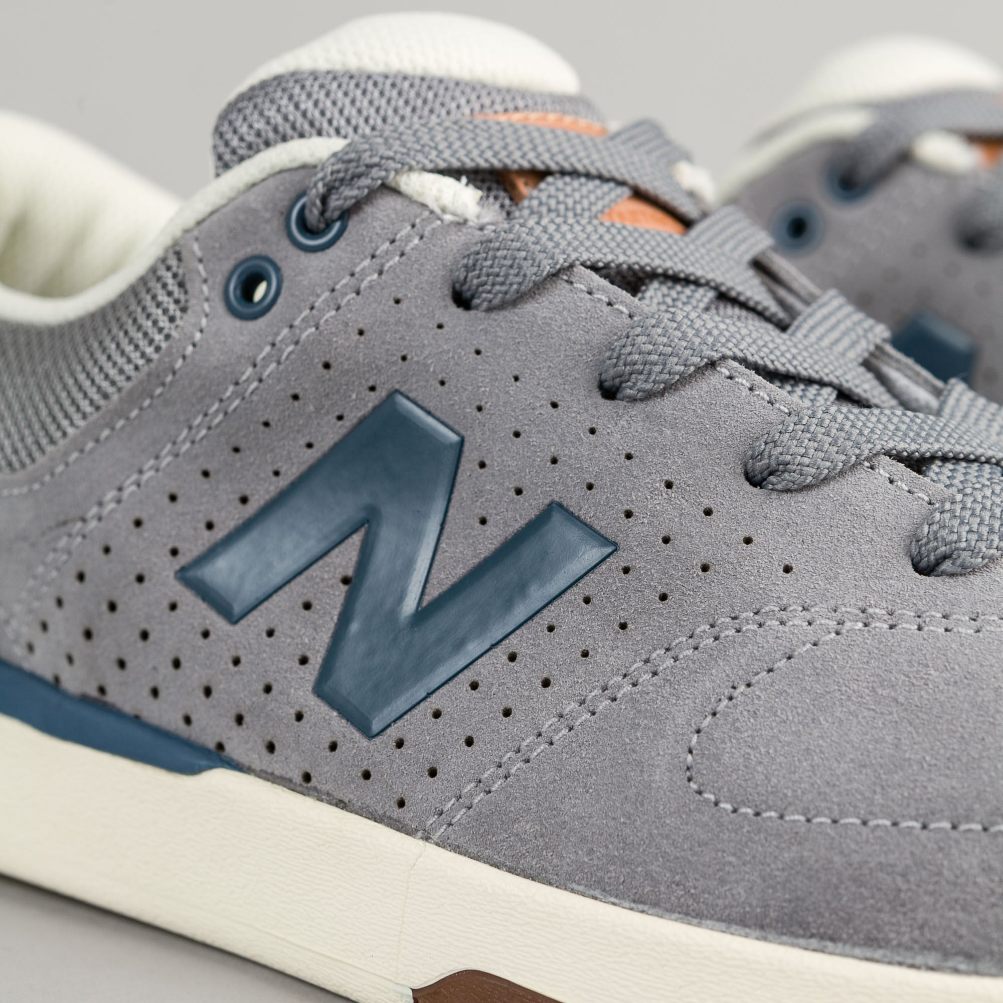 New Balance Numeric PJ Stratford 533 Shoes - Thunder / Navy