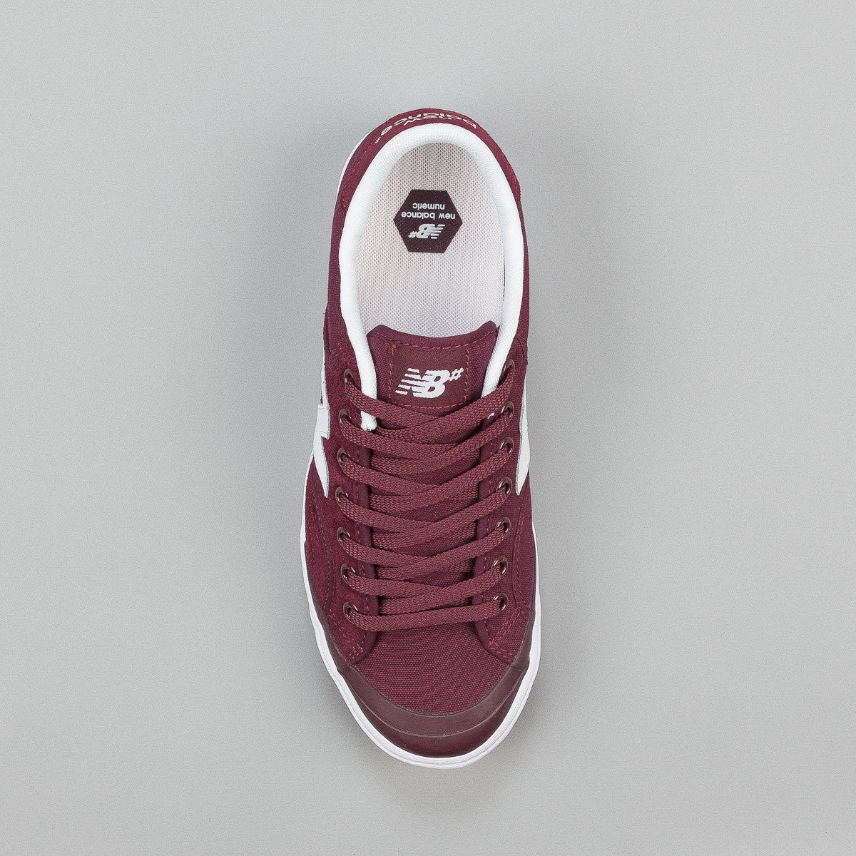 New Balance Numeric Pro Court 212 Shoes - Burgundy