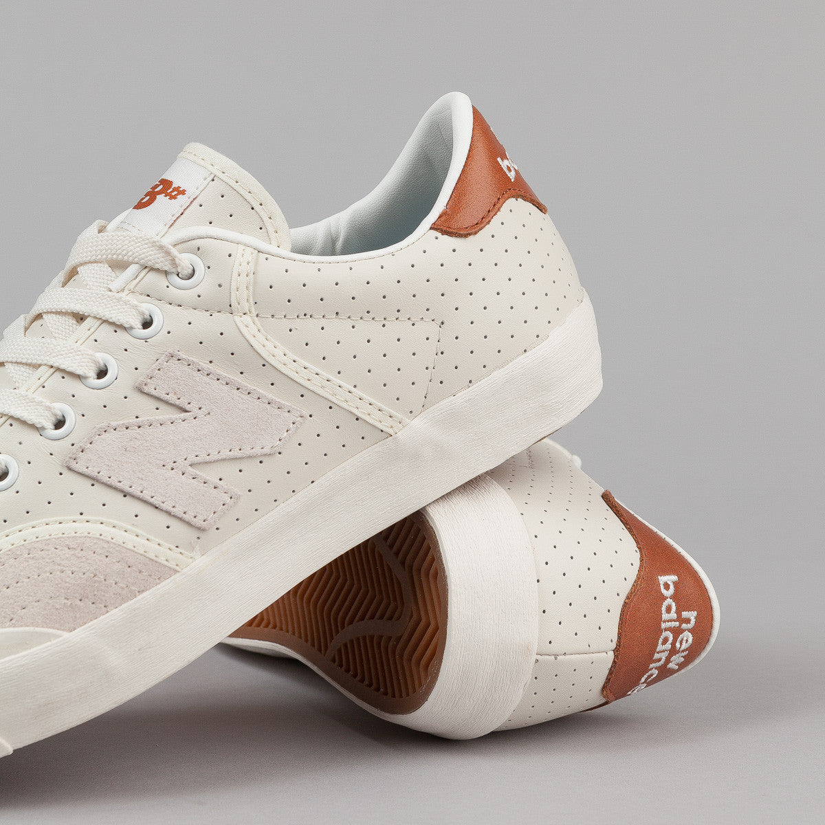 New Balance Numeric Pro Court 212 Shoes - Cream