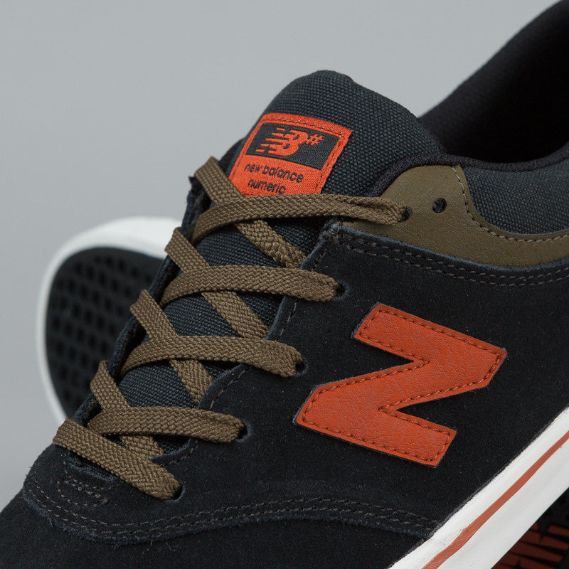 New Balance Numeric Quincy 254 Shoes - Black Suede