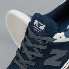 New Balance Numeric Quincy 254 Shoes - Navy Suede