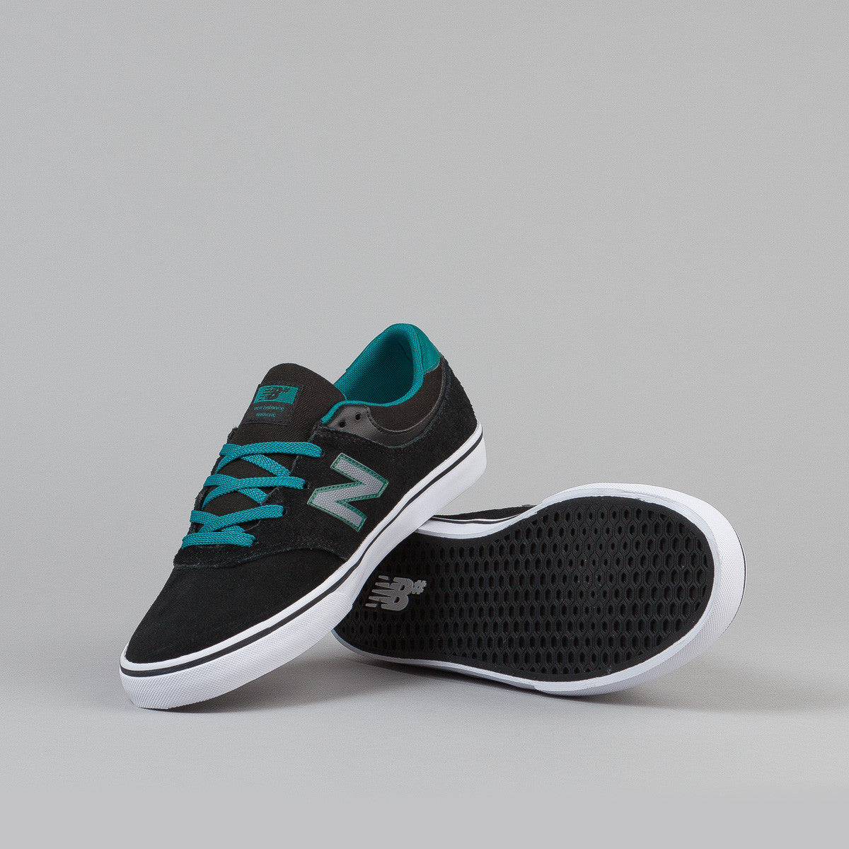 New Balance Numeric Quincy 254 Shoes - Black / Jade