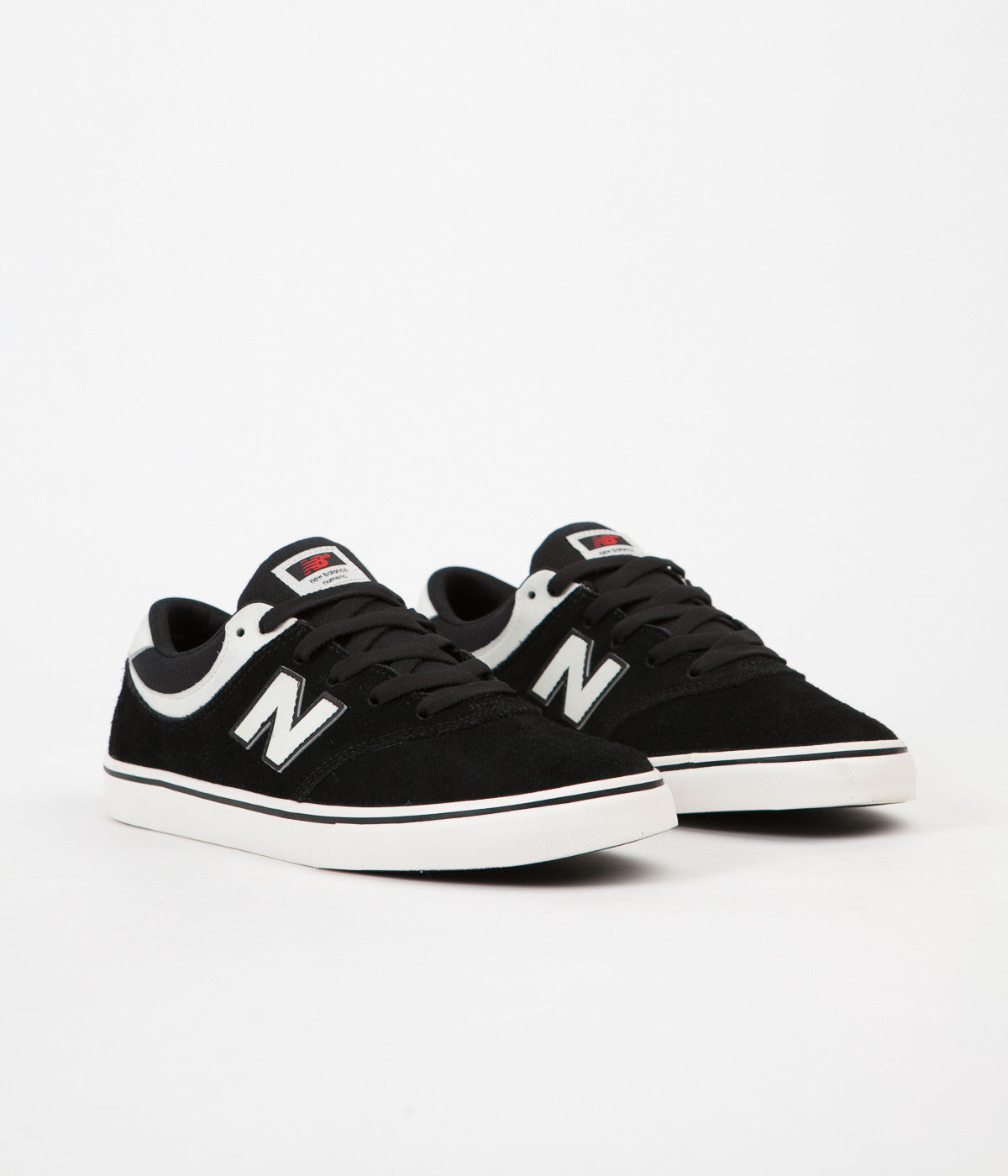 New Balance Numeric Quincy 254 Shoes - Black / Sea Salt