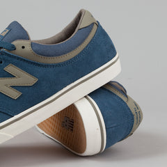New Balance Numeric Quincy 254 Shoes - Denim Blue
