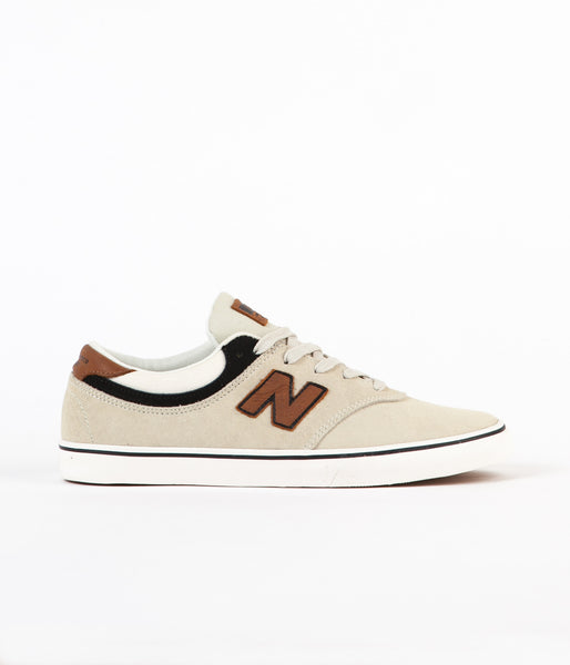 New Balance Numeric Quincy 254 Shoes - Powder / Nutmeg