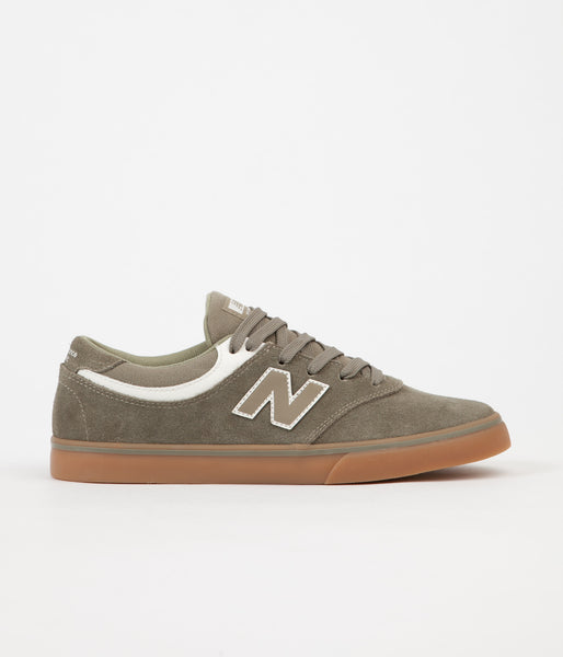 New Balance Quincy 254 Shoes - Olive / Gum