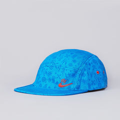 Nike SB Electric Swoosh 5 Panel Cap Blue / Orange