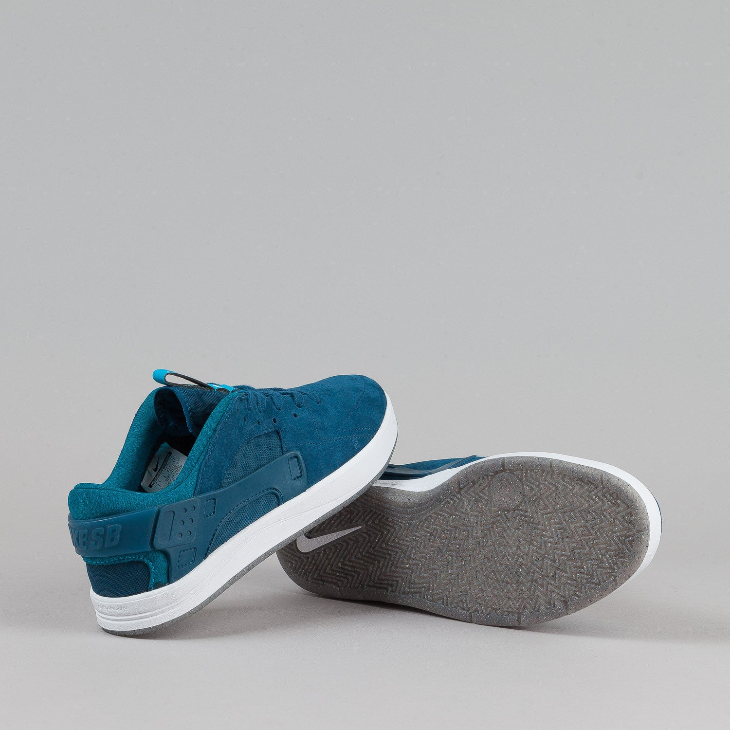 Nike SB Eric Koston Huarache Shoes Blue Force / Blue Lagoon - White