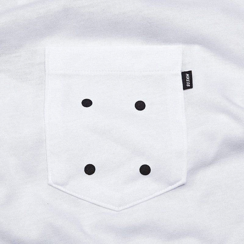 Nike Sb 4 Hole Pocket T Shirt White / Black