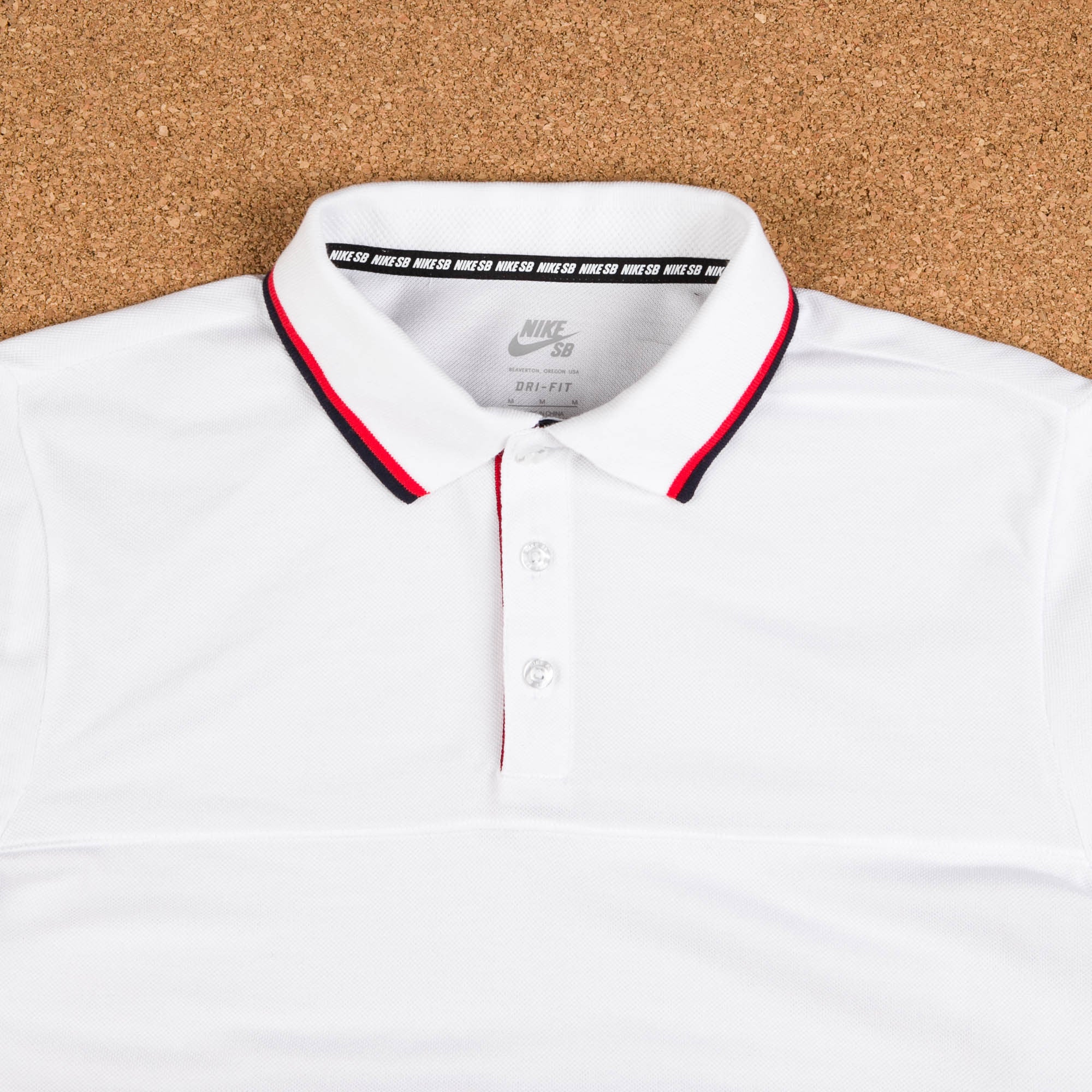 Nike SB x 917 Long Sleeve Polo Shirt - White