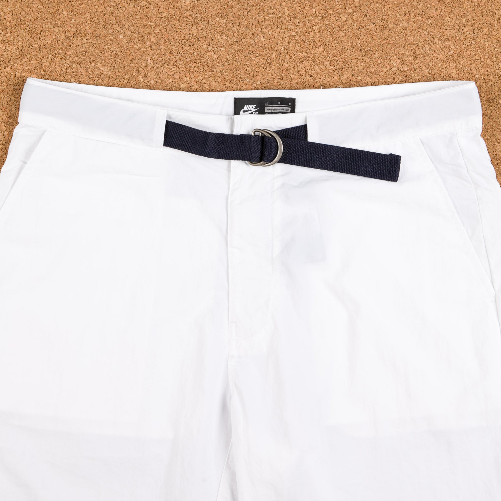 Nike SB x 917 Everett Country Club Shorts - White / Gorge Green