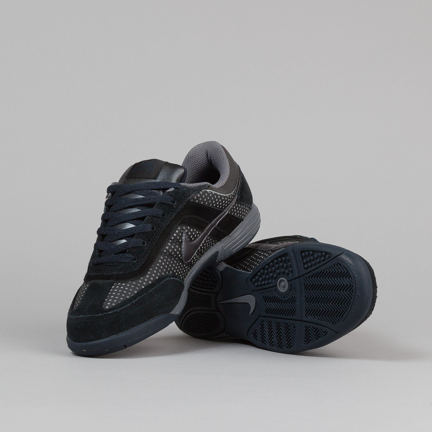 Nike SB Air Abington Shoes - Black / Light Graphite