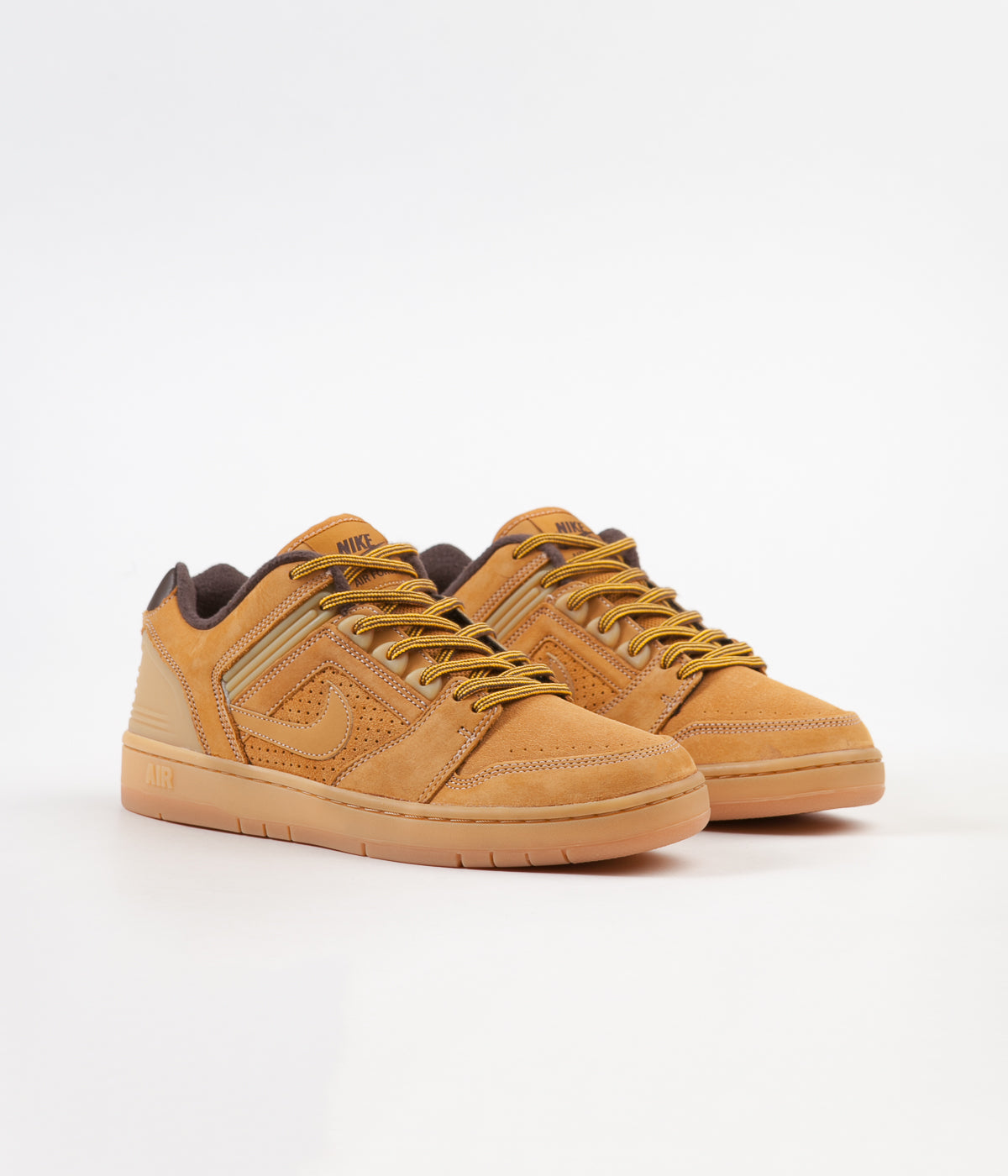 698008b9a5d9b Nike SB Air Force II Low Premium Shoes - Bronze   Bronze - Baroque Brown