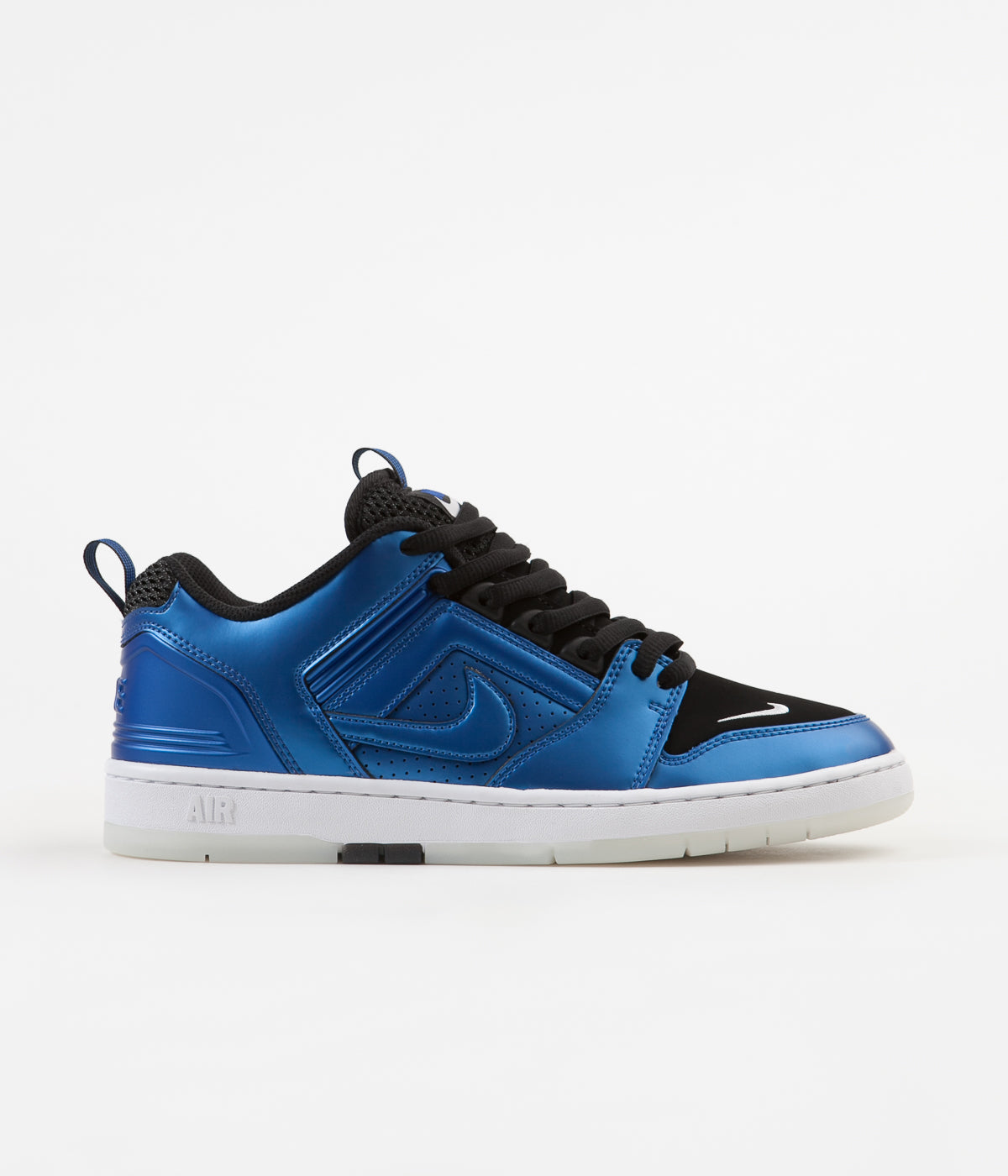 outlet store aaef7 7d329 Nike SB Air Force II Low Shoes - Intl Blue  Intl Blue - Black - White