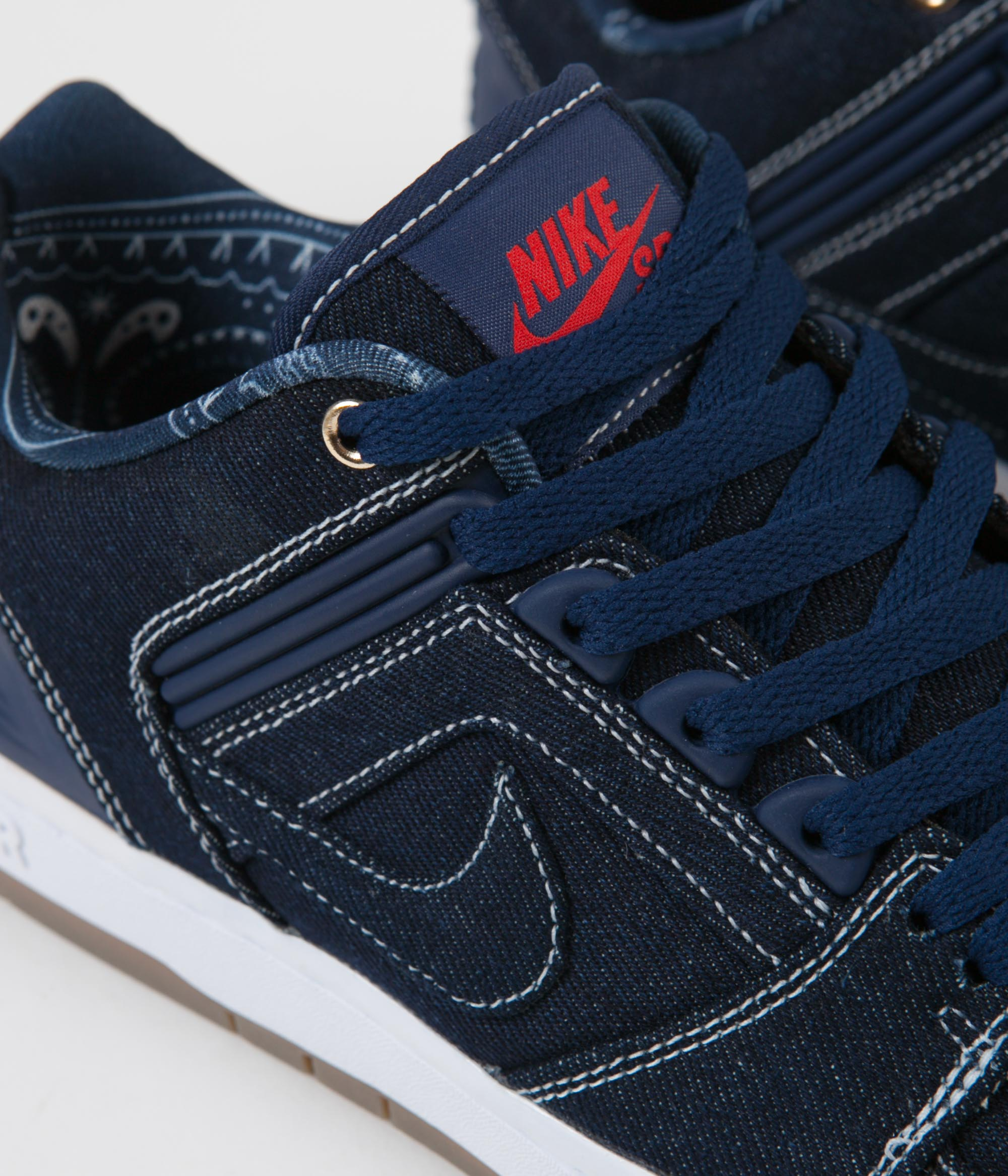 desmayarse Prisionero acoso  Nike SB Air Force II Low Shoes - Binary Blue / Binary Blue - White |  Flatspot