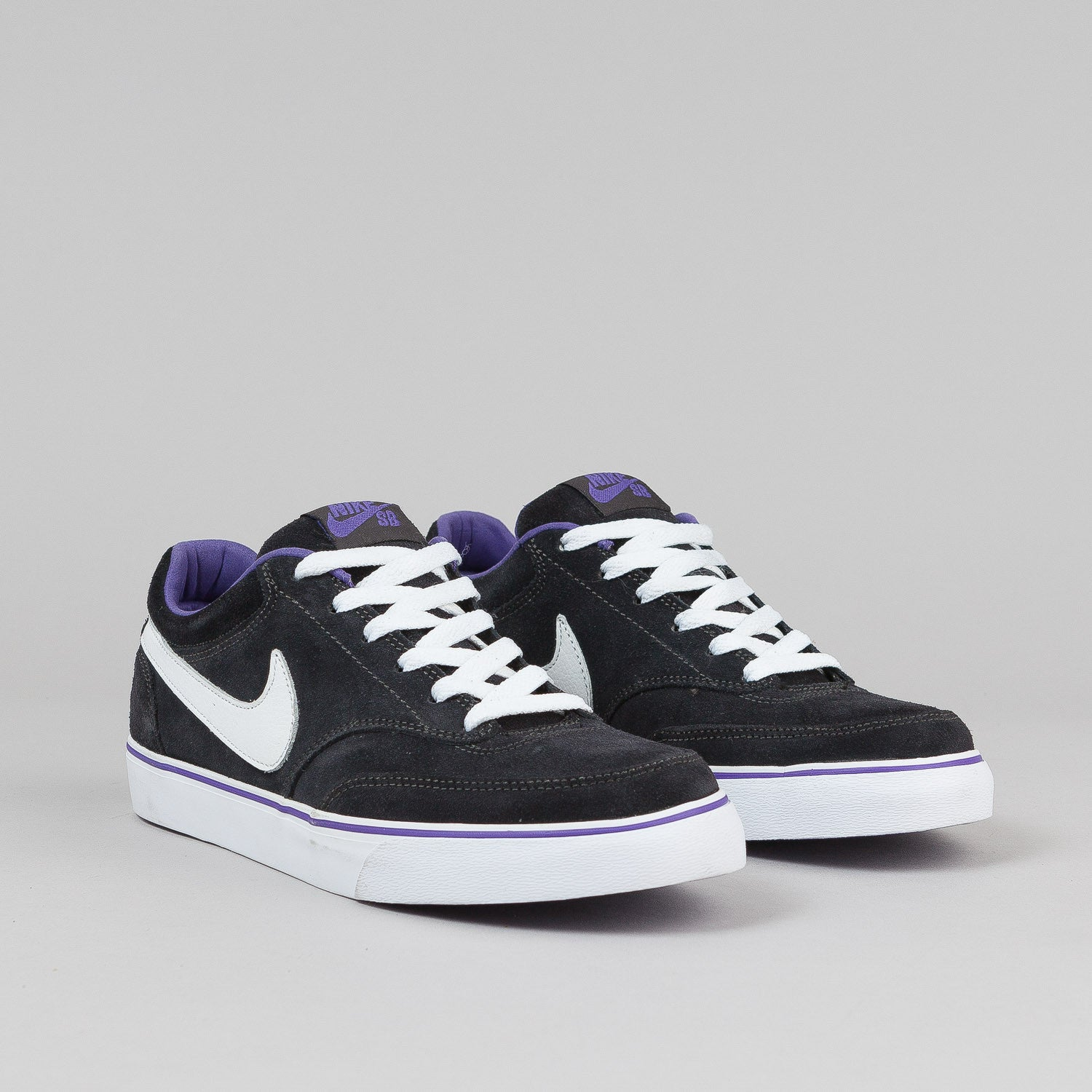 Nike SB Air Harbor Shoes - Dark Charcoal / White