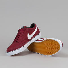 Nike SB Air Harbor Shoes - Team Red / White